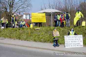 Les Gilets jaunes de retour à Saint-Julien-en-Genevois - Le Messager