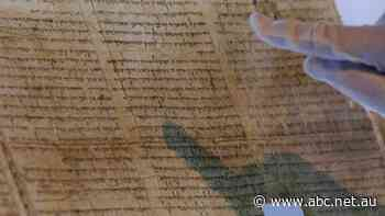 The Dead Sea Scrolls are 'like a time machine', but who wrote them?