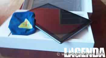 Giaveno: donato un tablet per la DAD alla famiglia in difficoltà con quattro figli - http://www.lagendanews.com