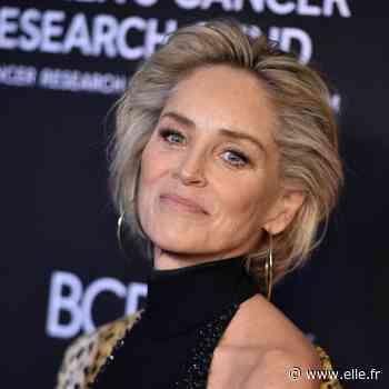 Sharon Stone troque ses cheveux lisses pour un carré bouclé tendance - ELLE France