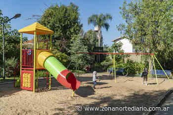 San Isidro: la plaza Malvinas de Boulogne tiene nuevos juegos - Zona Norte Diario Online