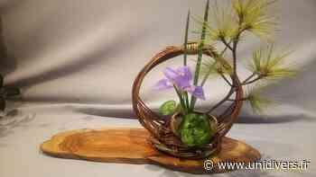 Exposition d'art floral japonais Jardin de Monique Petit Eaubonne - Unidivers