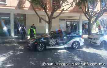 Reforzarán vigilancia en cajas recaudadoras tras atraco - Noticias de San Luis Potosí - Quadratín San Luis