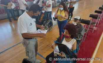 Cerca de 98 mil adultos mayores de ZM de San Luis Potosí se vacunaron contra Covid - El Universal
