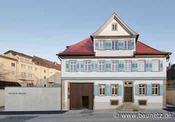 In Hölderlins Geburtshaus - Sanierung, Erweiterung und Ausstellungsdesign von VON M in Lauffen am Neckar - BauNetz.de