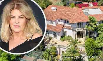 Kirstie Alley sells California mansion in Los Feliz area for $7.8 million