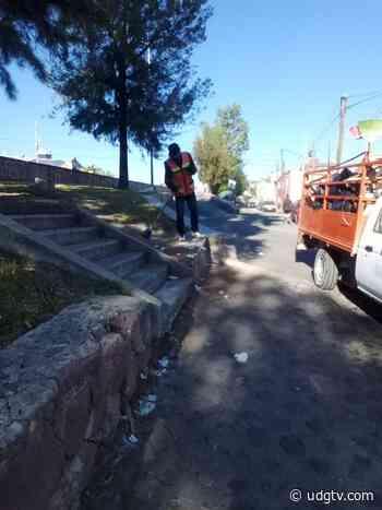 Aseo Público en Lagos de Moreno continúa invitando a los ciudadanos a mantener limpio el municipio - UDG TV - UDG TV