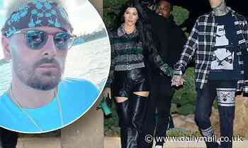 Scott Disick is 'struggling' with Kourtney Kardashian and Travis Barker's relationship