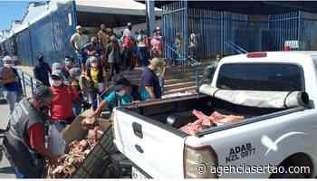 ADAB apreende duas toneladas de carne clandestina em Bom Jesus da Lapa - Agência Sertão