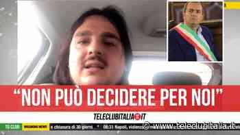 """Recovery, sindaco di Bacoli contro de Magistris: """"Non può decidere senza consultare sindaci"""" - Teleclubitalia.it"""