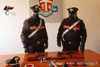 San Bonifacio: nella fuga minaccia i carabinieri con la carabina, arrestato - veronaoggi.it