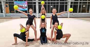 Rhythmische Sportgymnastik: Team für deutsche Junioren-Meisterschaft - Saarbrücker Zeitung