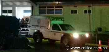 Lo plomean en Changuinola y muere trayecto al hospital - Crítica Panamá