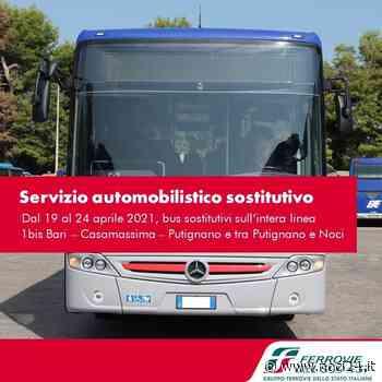 Avviso servizio automobilistico sostitutivo sulla linea Bari-Casamassima-Putignano e sulla tratta Putignano-Noci - NOCI24.it