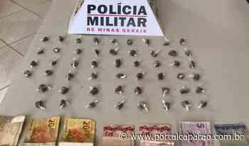 Drogas apreendidas e dois presos em Manhumirim - Portal Caparaó