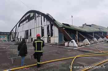 Mantes-la-Ville : le gymnase Aimé-Bergeal détruit par un incendie devrait être reconstruit - Le Parisien