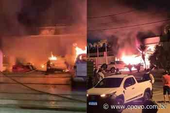 Incêndio atinge mansão em condomínio de luxo no Ceará - O POVO