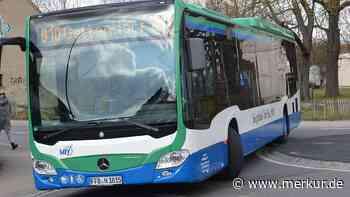 Nach Umbau: Mammendorfer Mini-Kreisel ist jetzt eine Gefahr für Busse - Merkur Online