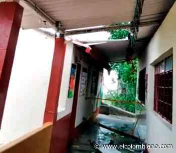Fuerte vendaval causa destrozos en municipio de Frontino - El Colombiano