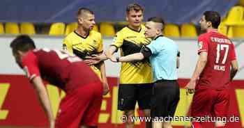 Kostenpflichtiger Inhalt: Unentschieden : Alemannia trennt sich 1:1 von Wegberg-Beeck - Aachener Zeitung