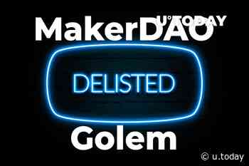 MakerDAO (MKR), Golem (GNT) Pairs Delisted by Bitfinex. What's the Reason? - U.Today
