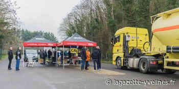 Gargenville - À la cimenterie, nouvelle grève pour l'emploi | La Gazette en Yvelines - La Gazette en Yvelines