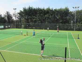 Sunny weather sees joyous return for Ledbury Tennis Club