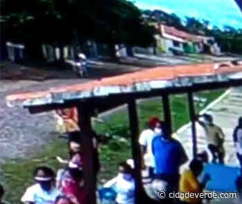 Vídeo mostra homens arremessando objetos para dentro de presídio - Parnaiba - Cidadeverde.com