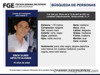 Alerta Amber por dos adolescentes indígenas desaparecidos en Tamazunchale - Código San Luis