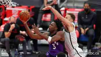 Replenished Raptors dispatch hobbled Nets, extend win streak to 4 games