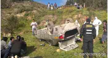 Junín: Niño de 12 años fallece al volcar vehículo en el que habría estado solo, en Tarma - Diario Correo