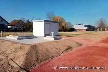 Die Brunnengalerien bei Nonnenweier sind fast fertiggebaut - Schwanau - Badische Zeitung