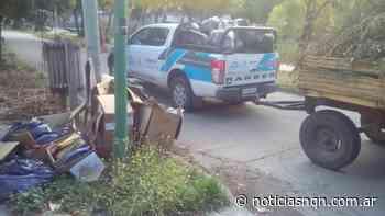 Realizan trabajos de limpieza en San Martin de los Andes - Noticias NQN