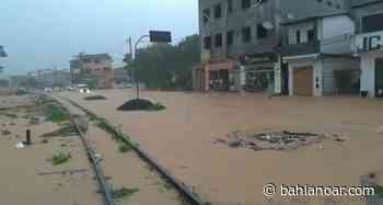 Chuva causa alagamentos em Catu - bahianoar.com