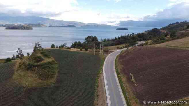 Concluyen obras en el anillo vial del lago de Tota y en la transversal de Boyacá - El Espectador