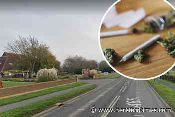 """Hereford drug-driver had smoked cannabis """"for a number of years"""""""