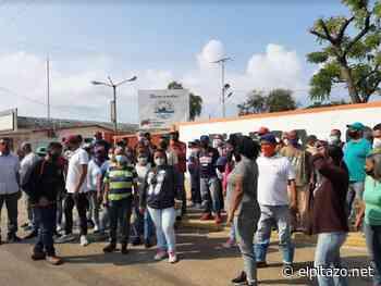 Trabajadores de Pdvsa Industrial reclaman el pago de pasivos laborales en Cabimas - El Pitazo