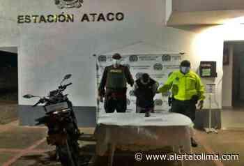 Lo cogieron por robar Estación de Servicio y darle bala a la Policía en zona rural de Ataco - Alerta Tolima