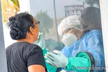 Ministerio de Salud realiza hoy pruebas Covid-19 en Suchitoto - Diario La Página