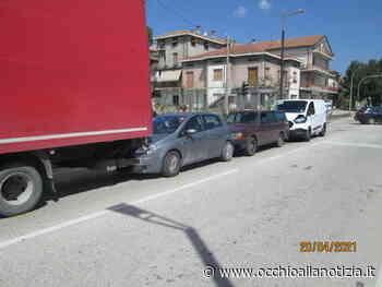 Tamponamento a catena lungo la Flaminia a Calcinelli, un ferito - Occhio alla Notizia