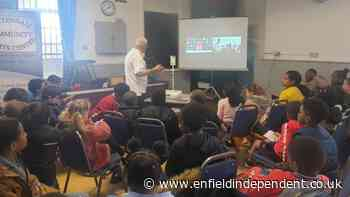 Tottenham's Harry Winks Zoom calls with Haringey schoolchildren - Enfield Independent