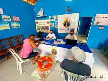 AgCamocim promove ação cívico-social na comunidade pesqueira da Praia de Bitupitá, em Barroquinha (CE) - Defesa - Agência de Notícias