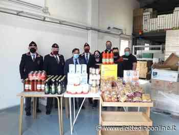 ANPS di Siena dona cibo alla Caritas per chi è in diffficoltà - Il Cittadino on line