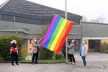 Katholiken aus Obersulm, Löwenstein und Wüstenrot zeigen Flagge - Heilbronner Stimme