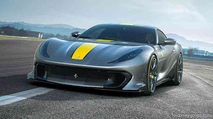 New special edition Ferrari 812 Superfast shown off in photos