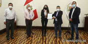 Firman convenio para poner en uso planta de oxígeno medicinal en Ascope - La Industria.pe