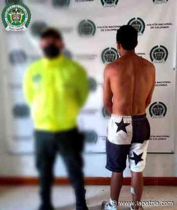 Capturan a hombre que mostraba sus partes íntimas a menores en Supía - La Patria.com