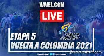 Resumen etapa 5 Vuelta a Colombia: Armenia - Belalcázar - VAVEL.com