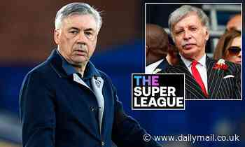European Super League: Everton boss Carlo Ancelotti slams the 12 founding clubs