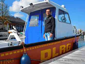 Bodman-Ludwigshafen: Alles bereit für den nächsten Einsatz: Die Mitglieder der DLRG Bodman-Ludwigshafen haben ihr größtes Einsatzboot selbst repariert und neu lackiert - SÜDKURIER Online